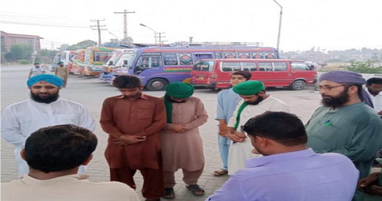 مجلس شعبہ تعلیم کے تحت شاہ کوٹ فیصل آباد کے اطراف میں علاقائی دورہ