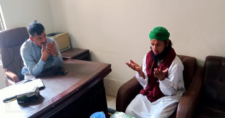 گرین ٹاؤن لاہور میں ایک  کمپنی کے مالک سے ملاقات