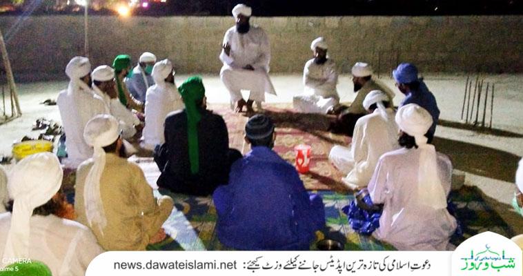 کراچی ریجن بن قاسم زون کےرکن کابینہ، ڈویژن و علاقائی ذمہ داران و مدرسین کا مدنی مشورہ