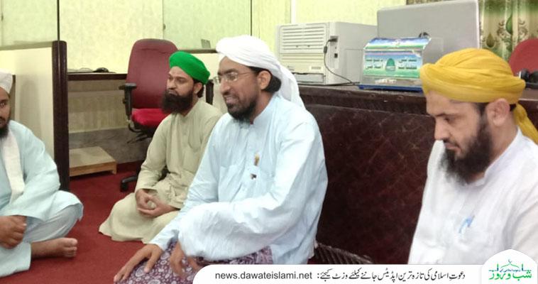 مین برانچ ستیانہ روڈ فیصل آباد  میں فیصل آباد ریجن کے اسلامی بھائیوں کا عید قربان کے متعلق مشورہ