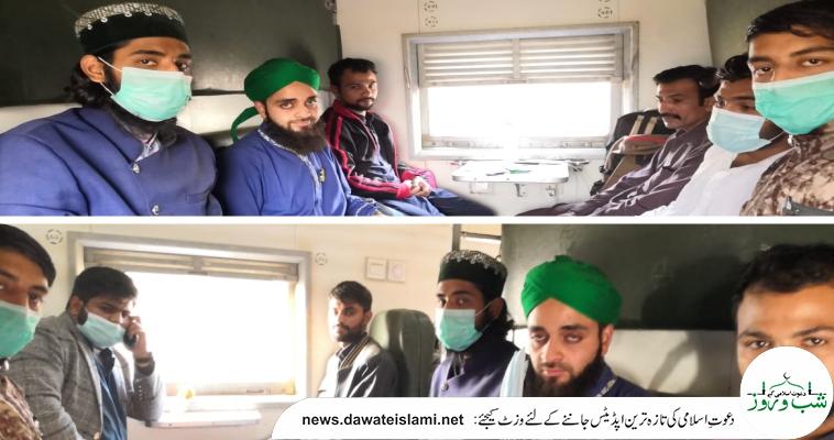 میر پور اور  مظفرآباد  میں  مدنی حلقہ